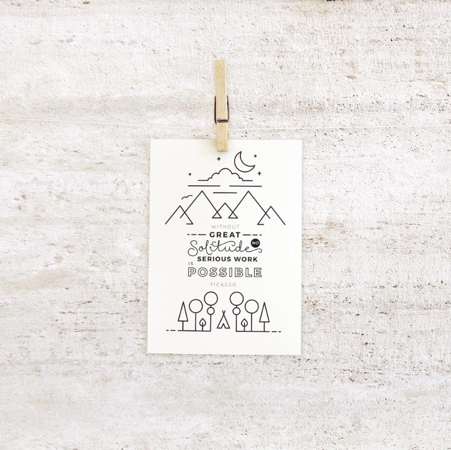 5x7 clothespin mock ups