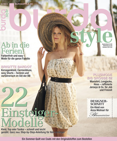 burda style 06-2011 cover