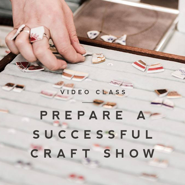 top tipps on selling at art and craft fairs - skillshare video class