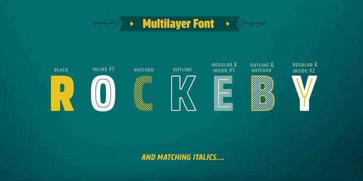 rockeby font family