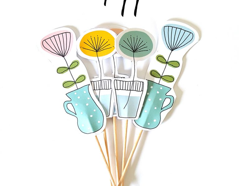 snw? cupcake topper