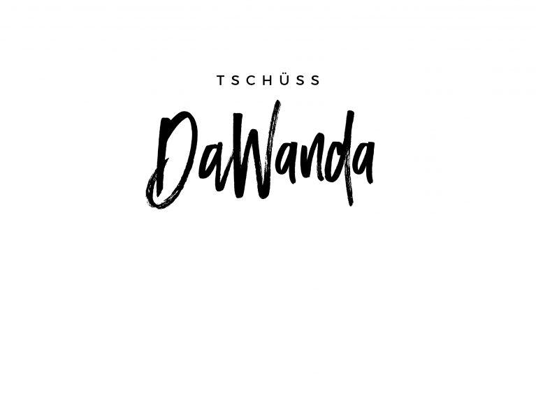 tschüss dawanda